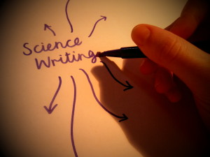 Science writer career