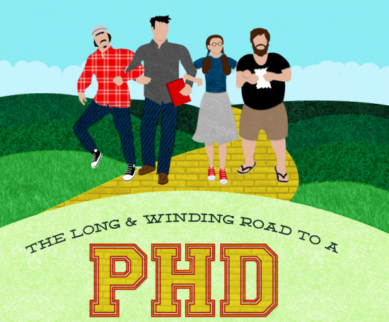 The Truth About Graduate School by Erin Podolak